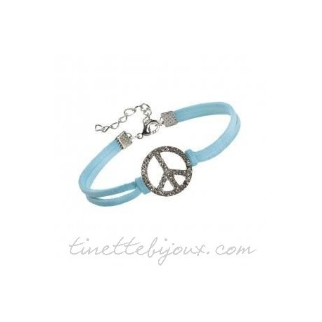 Bracelet  Peace and Love