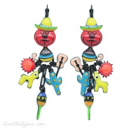 Boucles  LOLILOTA Chat Mexicain